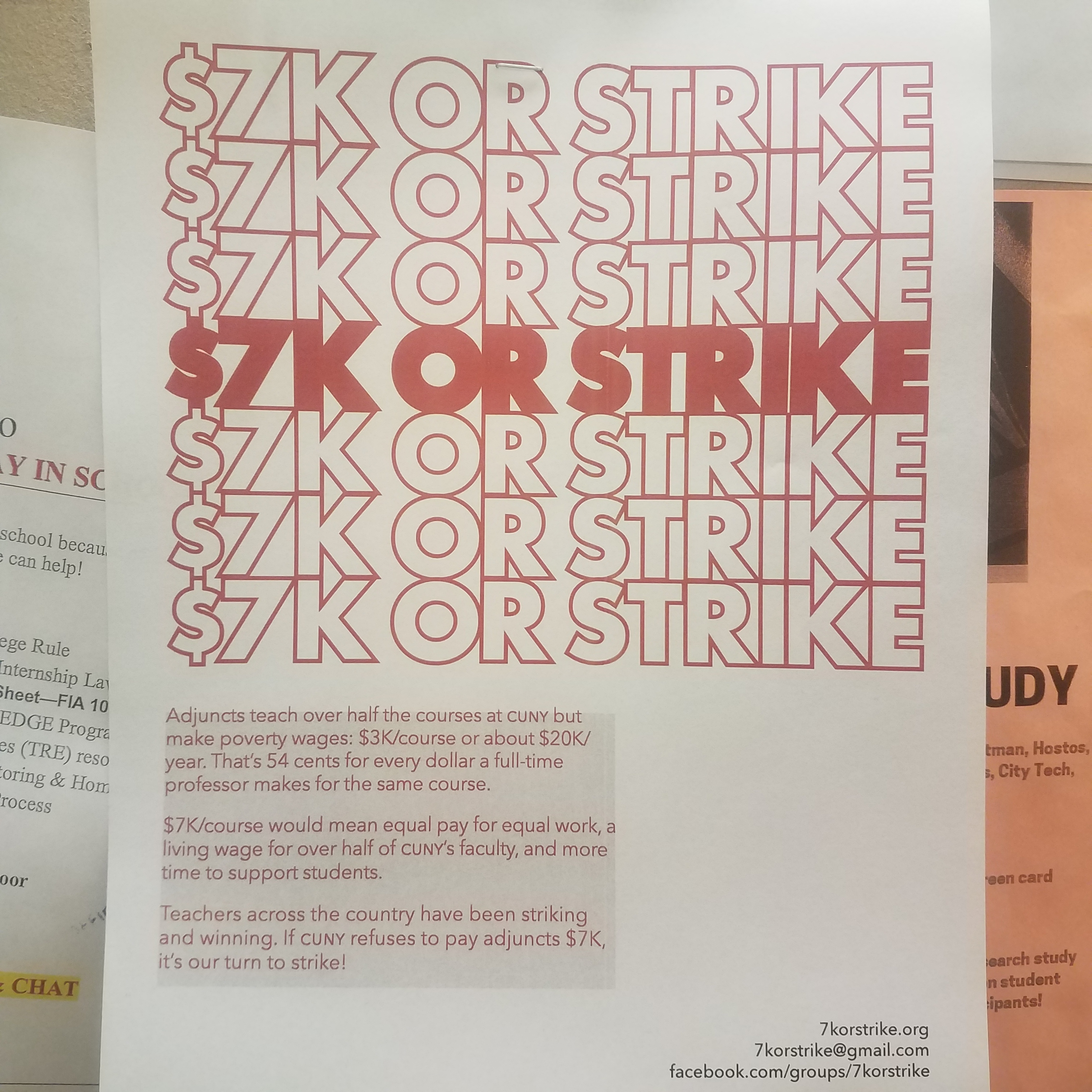 The Demand for Higher Adjunct Pay – News with Rama Syr